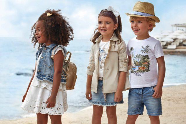 Moda verano niños