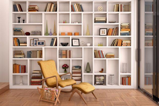 Libreros modernos