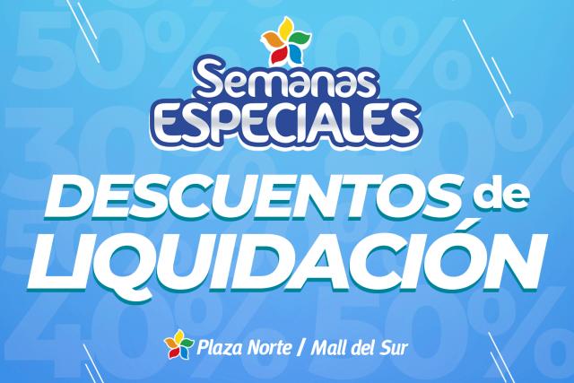 Promociones en Plaza Norte y Mall del Sur