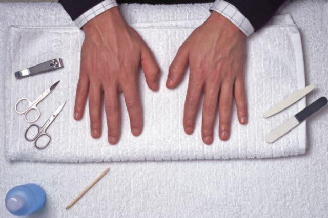 Manicure para hombres