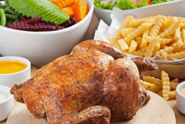 Pollo a la brasa de Mediterráneo