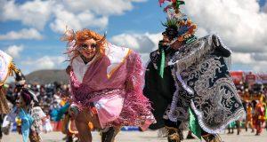 Danza típica del Perú