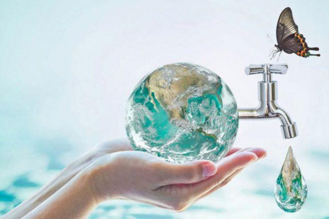 Cuidando el agua del planeta