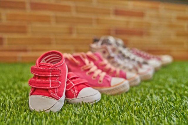 Zapatillas en color