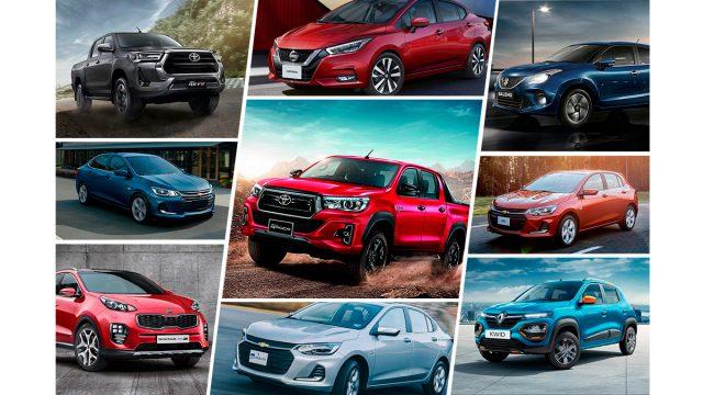 Carros mas vendidos en Latinoamérica