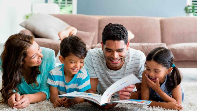 Hora de leer en familia
