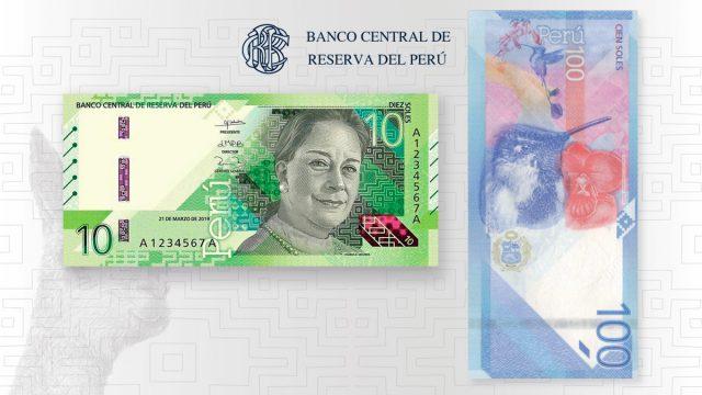 Nuevos Billetes de S/10 y S/100