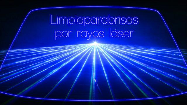 Limpiaparabrisas por rayos láser