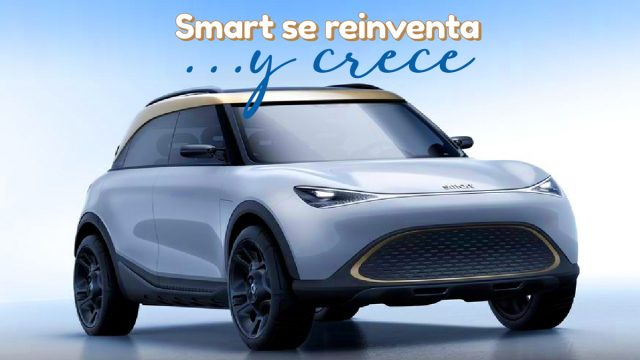 Smart eléctrico concepto